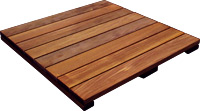 smooth deck tile